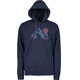 Maloja GraysM. Midlayer Heren blauw